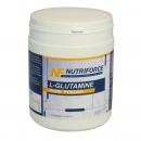 L-Glutamine pure powder front